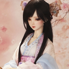 62cm youth ancient Chinese clothing ·snow