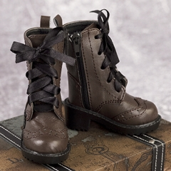 1/4 boy brown retro boots