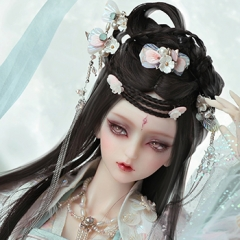 1/3 Chang e chinese ancient wig accessory Only for bjd dolls, not for human being