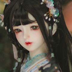 Gloria life- The twelve beauties- Xue Baochai (face-up)